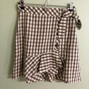 J.O.A Ruffle Skirt